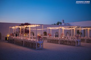 wedding reception in masseria Potenti