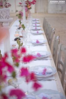 place card bougainvillea