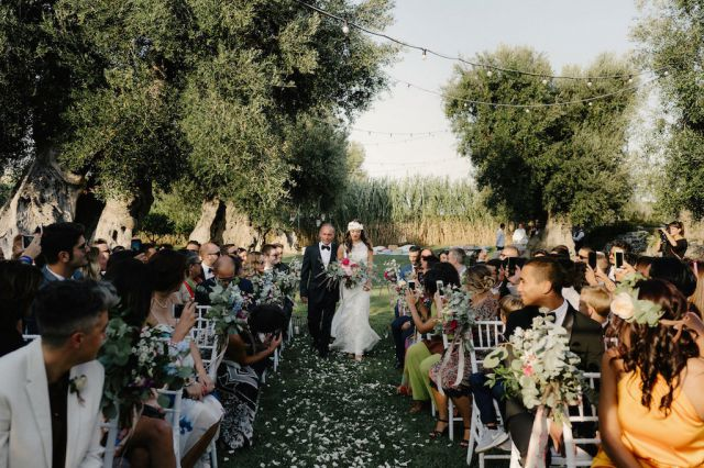 olive groove wedding ceremony