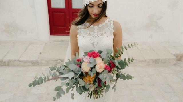 bouquet da sposa in stile naturale