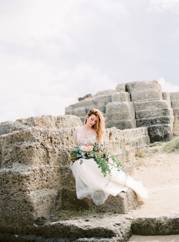 rustic wedding in italy