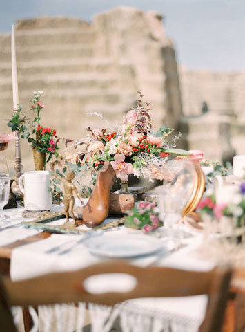 boho vintage wedding inspiration