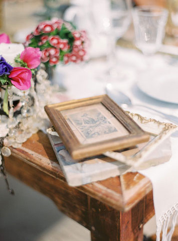 vintage details for wedding
