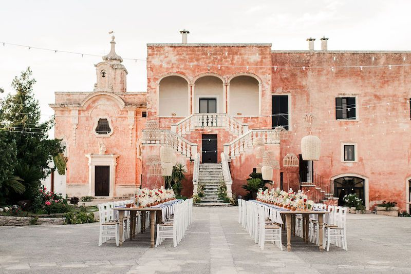 Special wedding in Masseria Spina, Monopoli