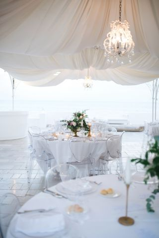 floral decorations for wedding in Puglia