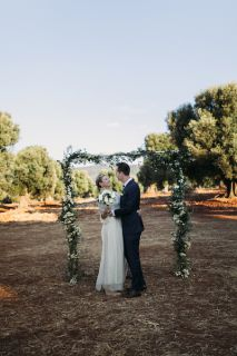 cymbolic ceremony in the olive groove