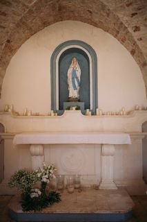 rural church in apulia