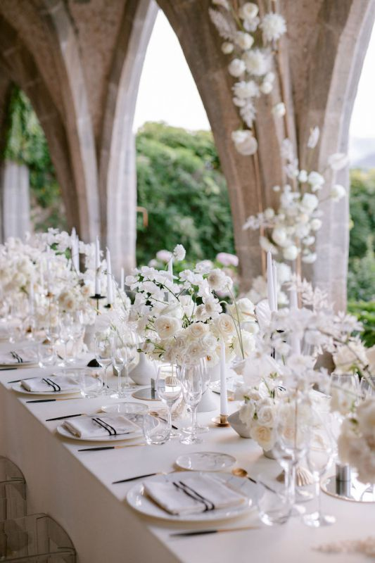 Italian florist for wedding in Southern Italy