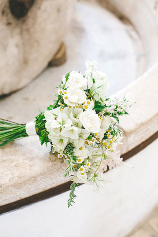 rustic chic bridal boquet