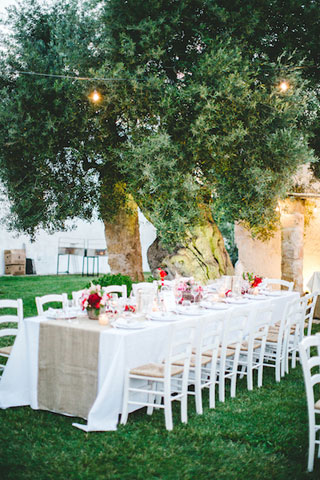 wedding destination in italy under the olive trees
