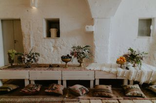 decorazioni matrimonio boho-chic