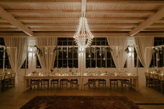 wedding reception in masseria with apulian lights