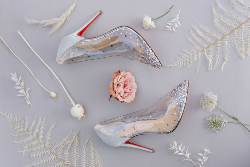Bridal shoes Loboutin