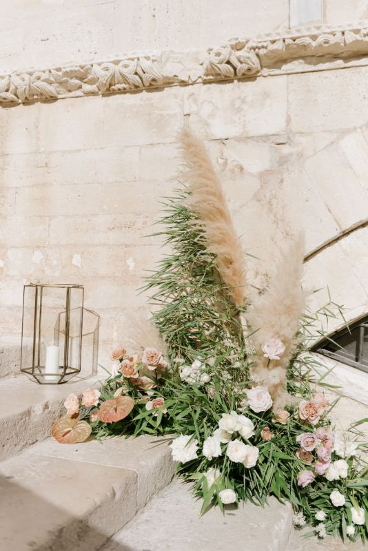 Florist for wedding in Puglia