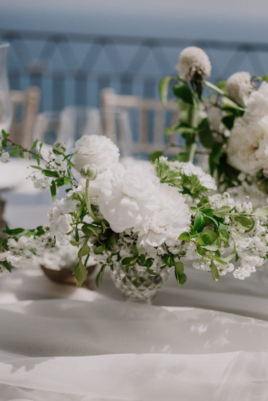 Floral designer for wedding In Italy