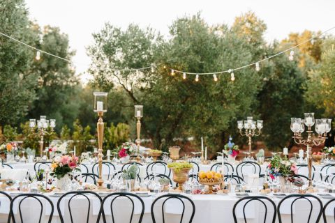 wedding in italian farm