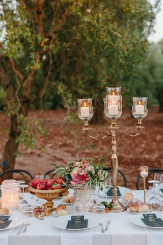 olive groove wedding table