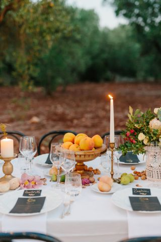 rustic boho details for wedding