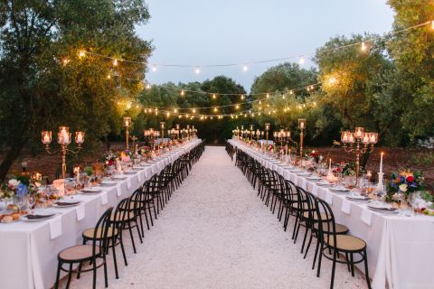 boho chic wedding tablescape