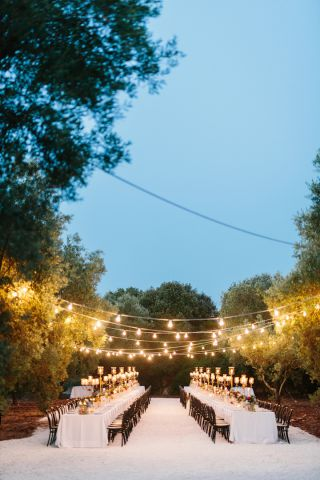 apulian lights for wedding in Puglia