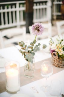 boho wedding centerpiece