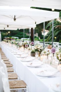 long table decorations