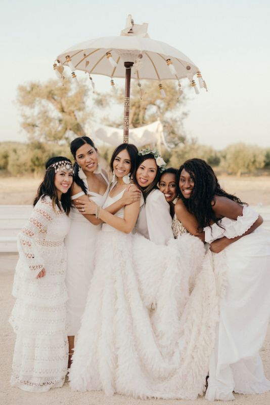 Boho wedding in masseria Potenti