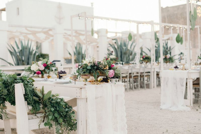 Boho wedding in Masseria Potenti, planning Chic Weddings in Italy