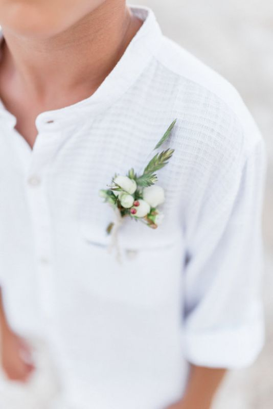 Buttonholes for boy