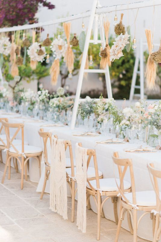 Apulian wedding centerpiece