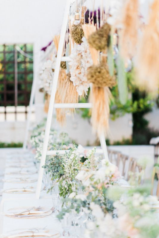 Floral design for wedding at masseria Le Carrube