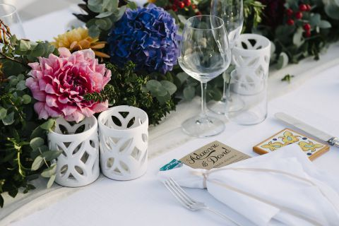 menu matrimonio rustic-chic