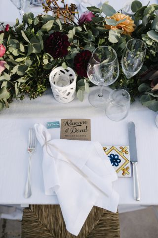 place card idea for wedding